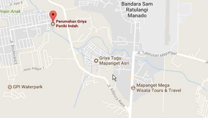 Map Jalan Raya Adipura