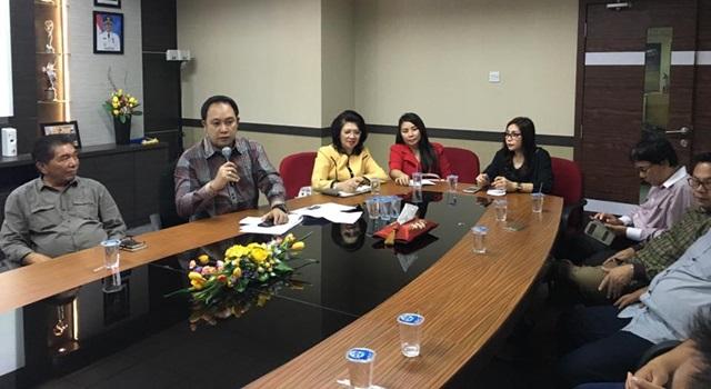 Kunker Linas Komisi DPRD Minahasa di Dinas Pariwisata Kota Batam. (Foto:IST)