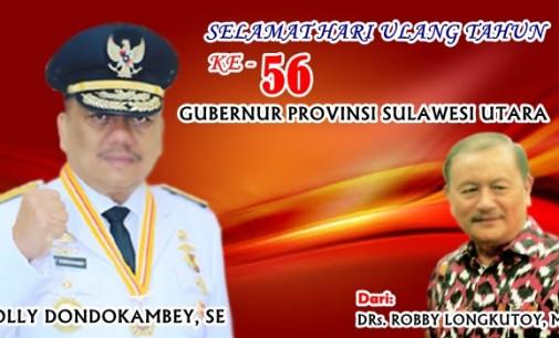 ROBBY LONGKUTOY: Jadilah Berkat Bagi Rakyat Sulawesi Utara