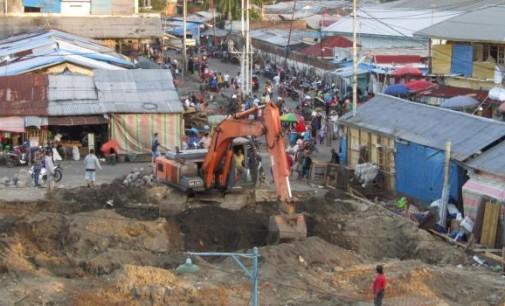 BERITA FOTO: Begini Kondisi Terakhir Pasar Bersehati