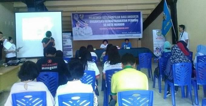 Pelatihan Keterampilan bagi OKP se-Kota Manado