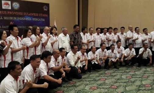 Pengurus PERGATSI Sulut Periode 2017-2021