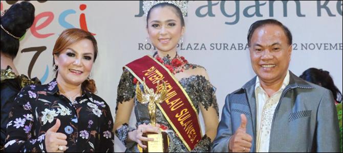Gabrielle Mandolang didampingi Wakil Wali Kota Tomohon Syerly Sompotan dan Asisten Perekonomian Ronni Lumowa SSos MSi.