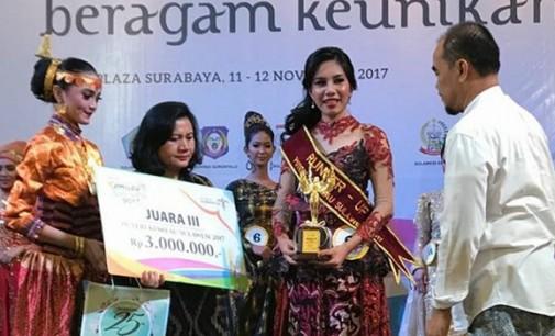RIBKA MANDAGI Runner Up Dua Puteri Kemilau Sulawesi 2017