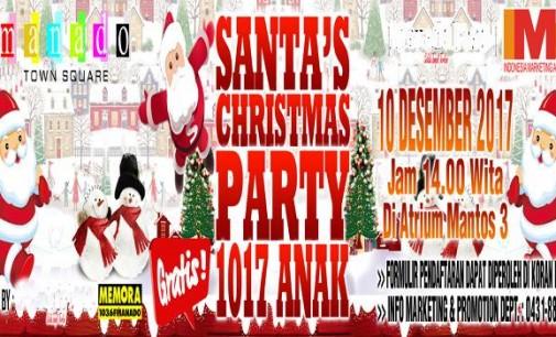 Pendaftaran Santa Claus 1017 Anak Mantos Tidak Di Pungut Biaya (Gratis)