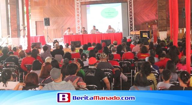 Acara Seminar Budaya Tonsea di TMII Jakarta Timur
