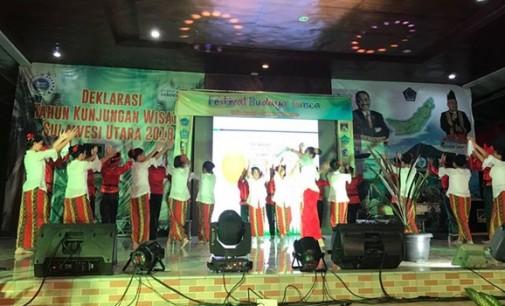 Festival Budaya Tonsea Sambut Tahun Kunjungan Wisata Sulut 2018