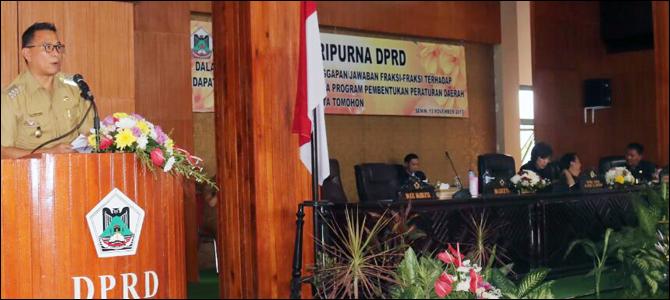 Wali Kota Tomohon Hadiri