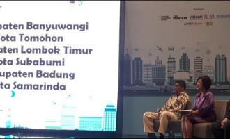 Ketua DPRD Tomohon Narsum di Seminar Gerakan Menuju 100 Smart City Indonesia
