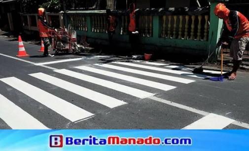 Terkait Pembuatan Zebra Cross, ARTHUR PAATH Apresiasi Pemkot Manado