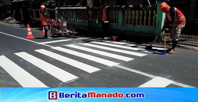Zebra Cross khusus depan sekolah