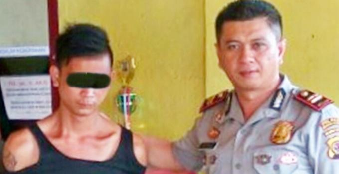 Kapolsek Tombatu IPTU Wensy Saerang SE bersama TSK