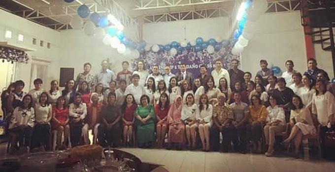 Alumni SMPN Negeri 1 Tondano banyak orang
