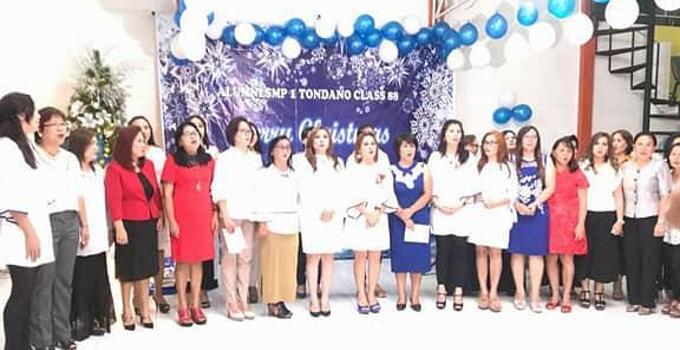 Alumni SMP Negeri 1 Tondano wanita