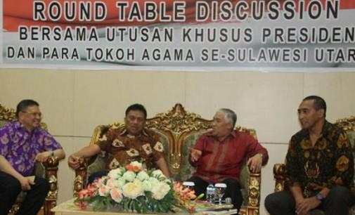 Mantan Ketua Umum Muhammadiyah Belajar Kerukunan di Sulut