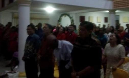 """Ibadah Natal GPdI Kanaan Sorong, """"Biar Cuma Dabu-dabu asalkan Hati Damai"""""""