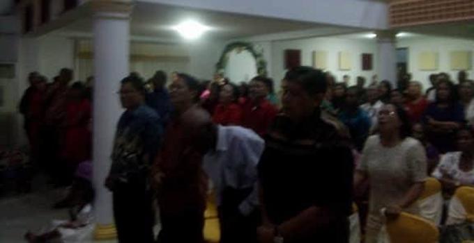 Ibadah Natal GPdI Kanaan Kota Sorong