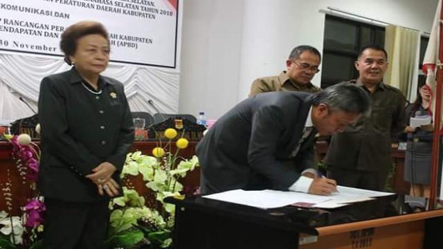Wakil Bupati Franky Donny Wongkar SH