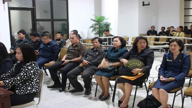 Sejumlah Pejabat di Lingkungan Pemkab Minsel