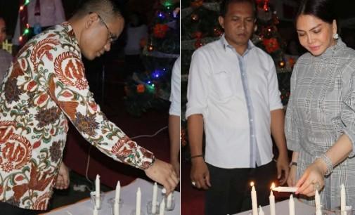 Gerindra Sulut Sederhana Rayakan Natal