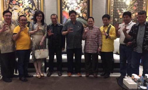 Beringin Sulut Dukung Penuh Kepemimpinan AIRLANGGA HARTARTO