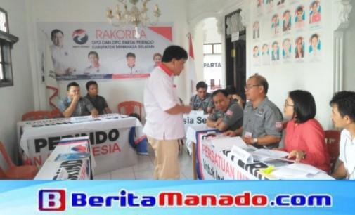 Diverifikasi Faktual, KPU Minsel Nyatakan Partai Perindo Sangat Siap