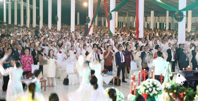 Ibadah Natal dihadiri ribuan jemaat GPdI