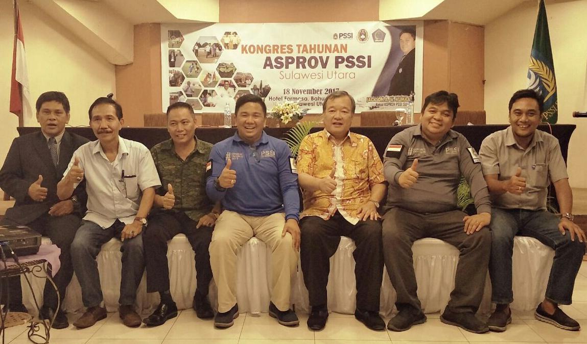 Kongres Tahunan Asprov PSSI Sulut