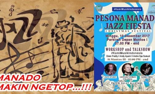 Konser Jazz Bertaraf Internasional Hadir di Manado