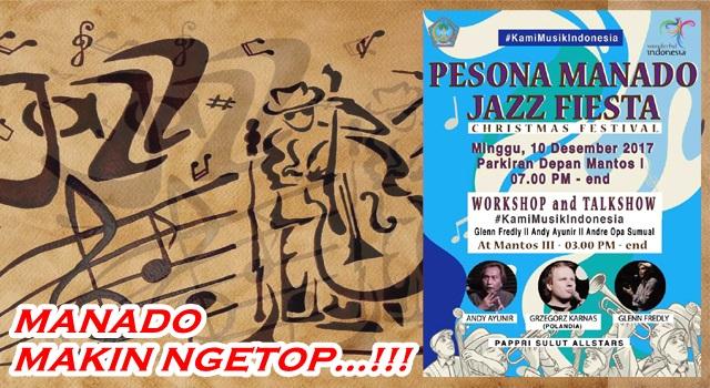Informasi Konser Jazz Bertaraf Internasional di Manado