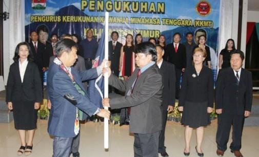 Bupati JAMES SUMENDAP Kukuhkan Pengurus KKMT Kalimantan Timur