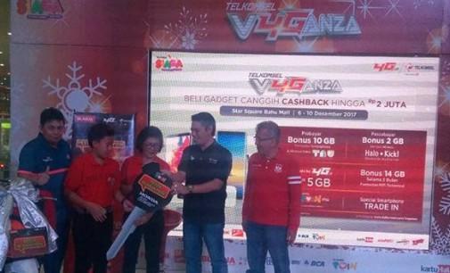 Program Pesta Blanja Poin Telkomsel, Pelanggan Manado Menangkan Satu Unit Motor