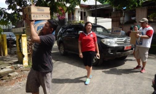 Banjir Surut, Pemprov Terus Berikan Bantuan