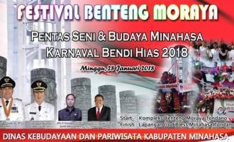 Disbudpar Minahasa Siap Gelar Festival Benteng Moraya