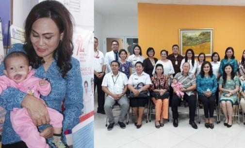 First Lady Bitung Dampingi Enam Anak Jalani Operasi Sumbing