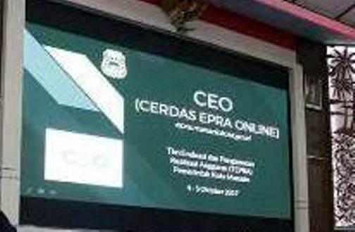 Aplikasi CEO (Cerdas EPRA Online) milik Pemerintah Kota Manado.
