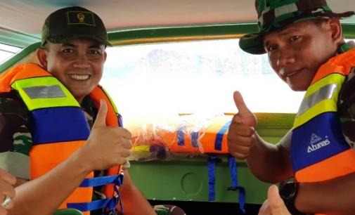 Dandim 1312/Talaud Lakukan Uji Coba Speedboat Sampai ke Sara