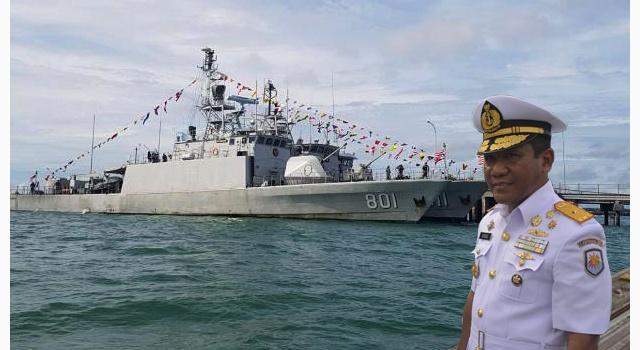 Laksamana Pertama TNI Ahmadi Heri Purwono