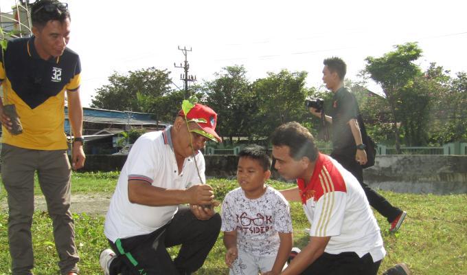 Didampingi Setdakot Manado, Hendrik Warokka