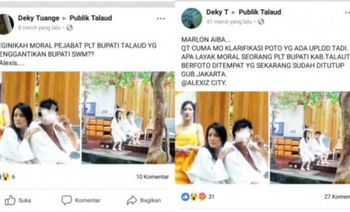 Astaga!!! Penyebar Foto Plt Bupati Talaud Diduga Warga Bitung