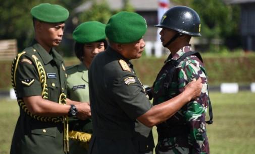 Pangdam XIII/Merdeka Buka Pendidikan Pembentukan Bintara Reguler TNI AD 2018 Pertama Kodam XIII/Merdeka