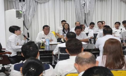 Bupati TETTY PARUNTU Pimpin Rapat Awal Tahun Pemkab Minsel