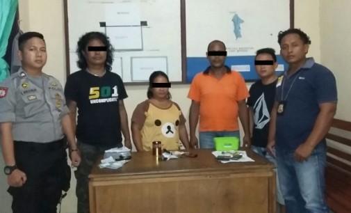 4 Anggota Sindikat Togel Diamankan Polsek Sinonsayang