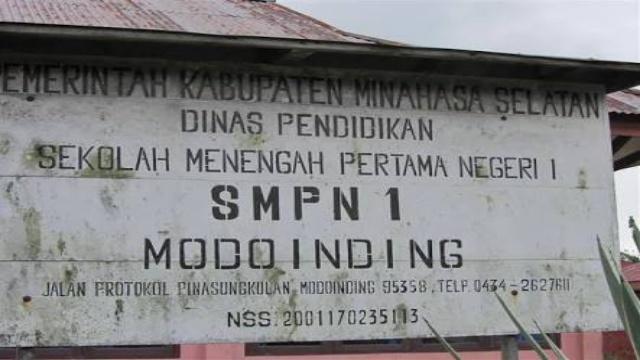 SMP Negeri 1Modoinding