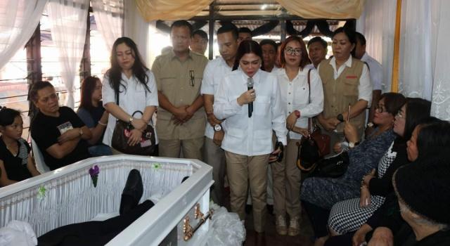Pimpinan Partai Gerindra turut berduka dengan kepergian Fernando Wowor.