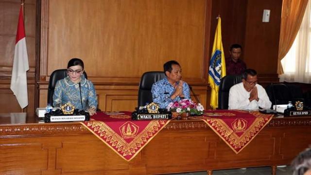 Rapat Kerja Bersama Pemerintah Badung Bali