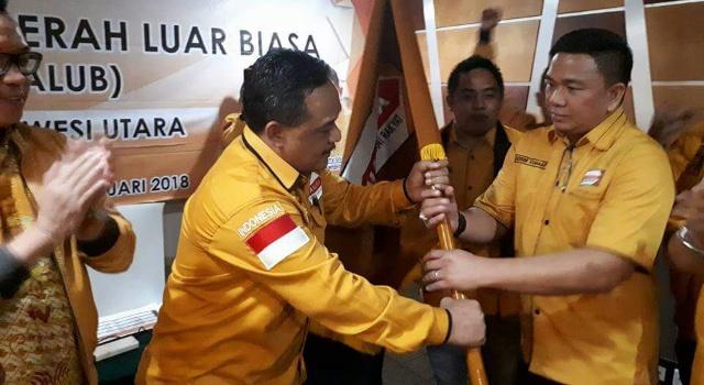 Jackson Kumaat terpilih sebagai Ketua Hanura Sulut secara aklamasi