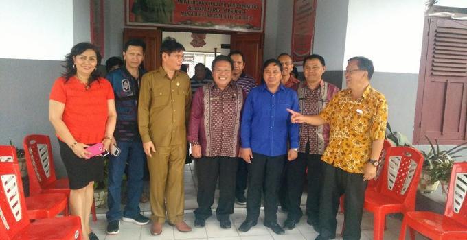 Kunjungan Kerja Komisi 4 DPRD Sulut di beberapa sekolah di Minahasa