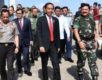 JOKO WIDODO Apresiasi TNI-Polri Yang Sigap Amankan Perhelatan Pesta Demokrasi