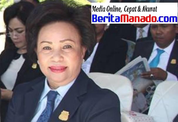 Ketua DPRD Kota Manado, Noortje Van Bone.(Foto1st)